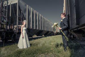 Photographe mariage Montréal image créative